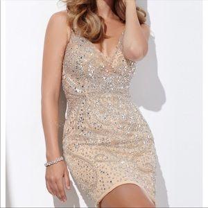 Jovani short cocktail dress. Beautiful!